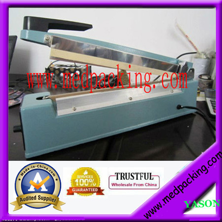ФОТО manual plastic bag sealer/poly bag sealer/coffee bag sealer(sealing length 400mm)