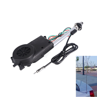 AM FM Radio Car Automatic Power Booster Antenna Mast Kit Auto Aerial For Mercedes Toyota Jeep