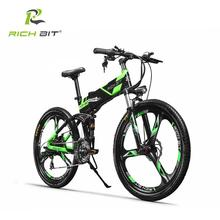 Richbit RT-860 bicicleta Eléctrica Bicicleta de Montaña Bicicleta Eléctrica 36 V * 250 W Batería de Litio Bicicleta Eléctrica Interior Li-en La Batería del ebike