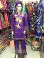 Африканские брюки Базен Африканская женщина clothingthree частей традиционные Африканские 100% хлопок базен Riche для женщин (Бесплатная Доставка) HM62