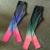 Top Qualidade Profissional Leggings Esportivos Mulheres Treino Roupas 2016 New Rainbow Gradiente Impressão Wicking Aptidão Legging Legins