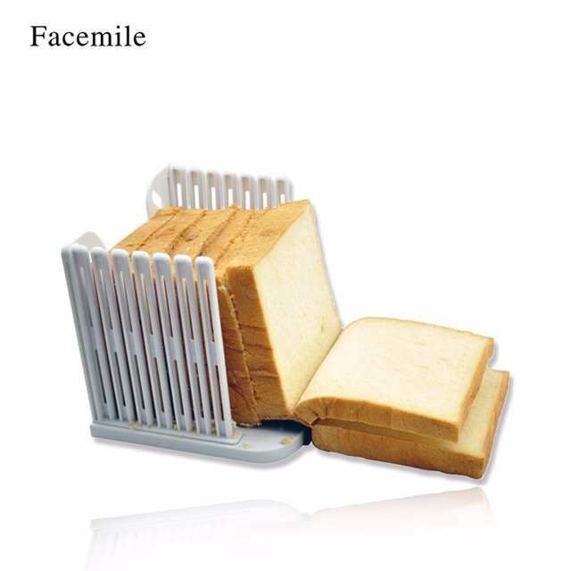 plastic 6 layers adjustable cake bread slicer cutter tool loaf toast