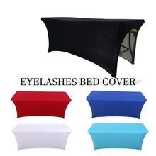 Eyelashes Bed Cover Beauty Sheets Elastic Table Stretchable Eyelash Extension Professional Cosmetic Salon Sheet with Hole