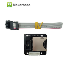3D accessories SD external card reader connector module extended adapter sd extension module suitable for MKS TFT Touch Screen