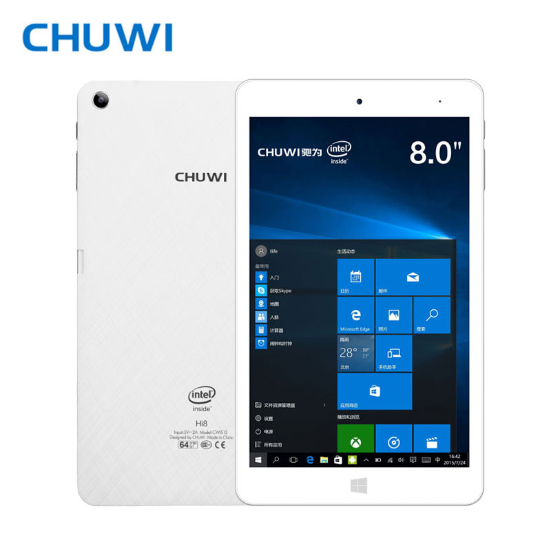 CHUWI Official! CHUWI Hi8 Pro Dual OS Tablet PC Windows 10 Android 5.1 Intel Atom X5-Z8350 Quad core 2GB RAM 32GB RAM 1920x1200