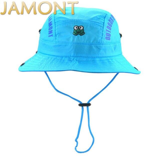 Visualizzza di più.  Jamont  cielo blu rosa verde grigio tesa larga cappello  capretto bambini spiaggia estate cappello 02ce6645d976