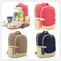 Promition! Baby diaper Bags for mom nappy changing tote bag multifunction stroller organizer waterproof baby bag