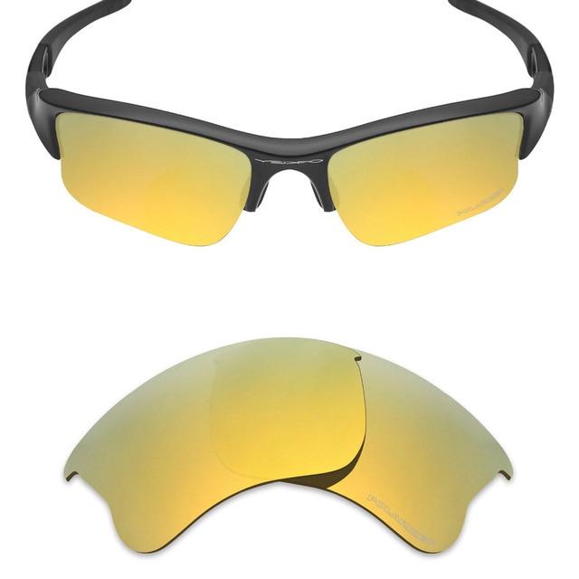 Mryok + POLARIZADA Lentes de Reposição para óculos Oakley Flak Jacket  Sunglasses xlj Resistir À Água 81705cad9c