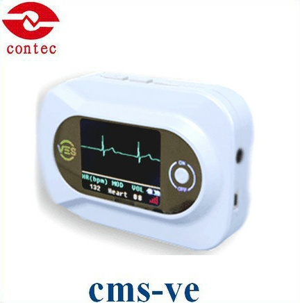 CONTEC CMS-VE Visual Digital Stethoscope ECG SPO2 PR Electronic Diagnostic Fonendoscopio Doktor Steteskop Medical Equipment