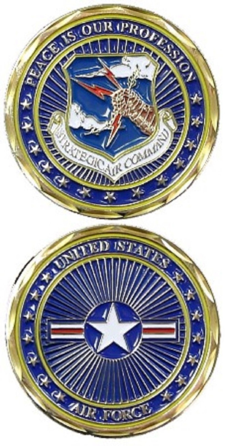 low price Custom coin hot sales U.S. Air Force / Strategic Air Command USAF Challenge Co ...
