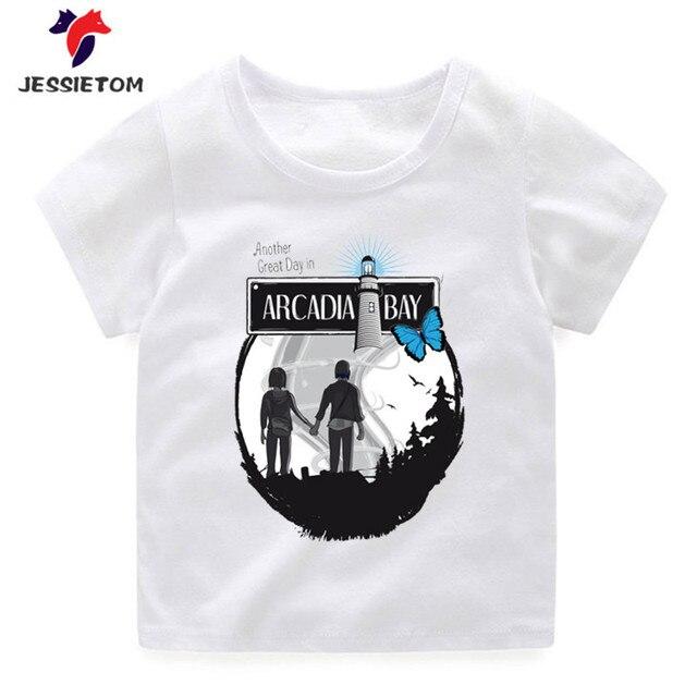 90583c04e Children s Game Life Is Strange Tshirt kids Funny T shirt for Boy ...