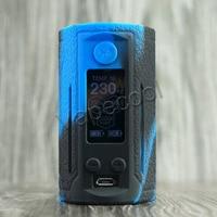 10pcs Silicone cover for Reuleaux RX GEN3 Dual 230W case rubber Skin Warp Sticker Sleeve shell hull damper vape gel mod shield