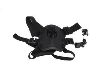 цена на Dog Harness Chest Strap Belt +J Hook + Screw Action Camera Accessories Kit for GoPro Hero 7/6/5/4/3/3+/2/1 Xiaomi Yi 4k SJCAM