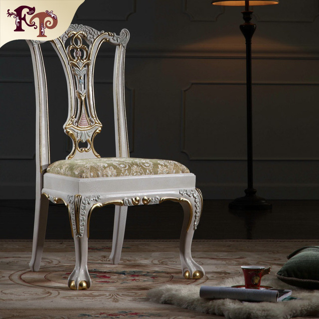 european antique furniture - baroque solid wood handcraft chair Free  shipping - European Antique Furniture Baroque Solid Wood Handcraft Chair Free