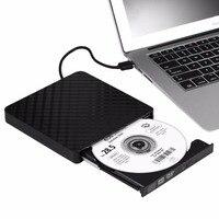 USB 3.0 External DVD Drive New Universal High Speed Ultra Thin DVD Read Writer R/RW For Laptop /Desktop Computer Optical Drives