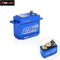 Puissance HD LW-25MG 25 KG/0.14 S étanche couple élevé engrenage en métal Standard numérique Servo pour 1/8 1/10 échelle RC voitures