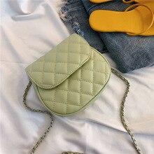купить Female Crossbody Bag Women 2019 High Quality PU Leather Luxury Handbag Designer Sac A Main Ladies Lattice Shoulder Messenger Bag дешево