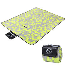 Outdoor Picnic Mat Waterproof Blanket Beach Lawn Mat Moistureproof Picnic Blanket for Picnic Baby Crawling Sleeping Yoga Pad(China)