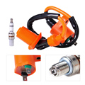 Racing Performance Ignition Coil +Spark Plug A7TC Fit for GY6 50cc -150cc Scooter ATV Moped Go Kart Dirt bike Quads Dune Buggys