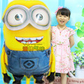 1pcs/lot 92*65cm Despicable Me minions balloons big large new year helium ballons globos Christmas party inflatable foil baloes