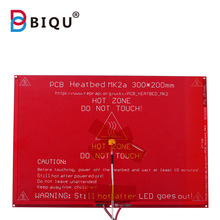 MK2A 300*200*2.0mm RepRap RAMPS 1.4 Heatbed with led Resistor and cable for Mendel 3D printer hot bed nokotion v000185570 6050a2313501 main board for toshiba satellite l505 laptop motherboard hm55 ddr3 hd4500 discrete graphics