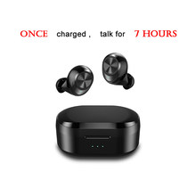 Best Mini Size Waterproof Wireless Earphone Touch Control TWS 5.0 Bluetooth Headphone with Dual Microphone Stereo Music Earbuds(China)