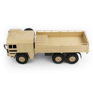 Image 3 - JJRC Q64 1:16 6WD telecomando camion militare sospensione off road del veicolo rc auto off road arrampicata auto