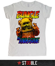 Bungle Is Massive Ladies T-Shirt - Direct from Stockist New T Shirts Funny Tops Tee New Unisex Funny Tops Tops Tshirt Homme ak 47 t shirt direct from stockist new t shirts funny tops tee new unisex funny tops men s funny harajuku tshirt basic models