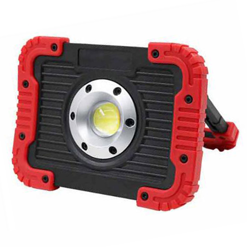 COB LED Work Light USB Rechargeable Camping light Outdoor Portable Tent Light Emergency Light Maintenance Light Working Lamp Red 13w running time12hours ip65 white constand and red flash portable light emergency light led flood light camping light