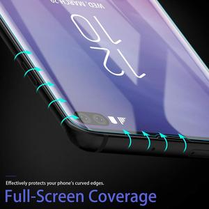 Image 5 - UV Tempered Glass For Samsung Galaxy S20 ULTRA S8 S9 S10 PLUS Screen Protector NOTE 20/10/9/8 Full Cover Curved Liquid Glue Film