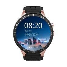 "2016 Smartwatch 3G Kingwear KW88 PK Finow X5 X61.39 ""Amoled 400*400 Smart Uhr 3G Aufruf 2.0MP Kamera Schrittzähler Herzfrequenz"