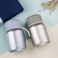 Mini Bottle Lovely Children Vacuum Flask Female Cute Creative Bellycup Students Children Portable Stainless Steel Vacuum