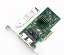 2 Port Double Mouths Broadcom PCI – E 5709 Gigabit Network Card Server