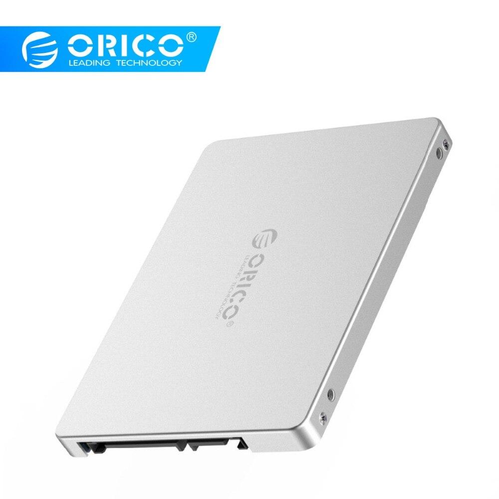ORICO Aluminum 2.5 M.2 NGFF/MSATA To SATA Adaptor Convertor High Speed 6Gbps Support 2230 2242 2260 2280 M.2 SSD MSATA/M.2 B-Key