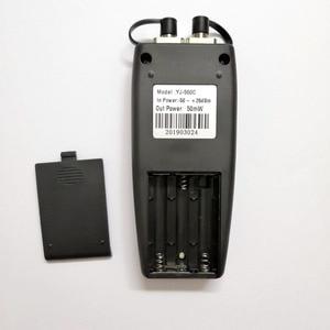 Image 4 - Free Shipping Mini Fiber Tester Optical Power Meter with Visual Fault Locator OPM VFL 50mw 30mW 10mW 1mW Fiber Optic Laser