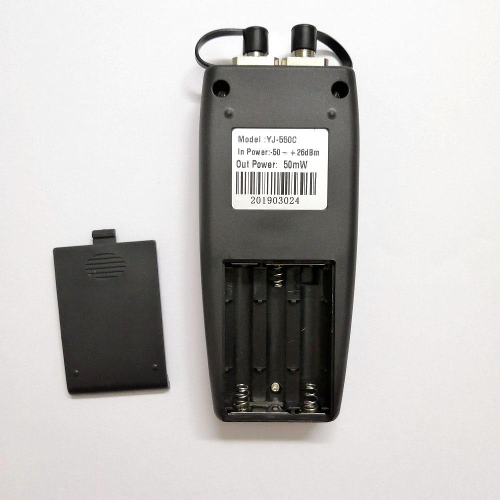 Image 4 - Free Shipping YJ 550C Mini Fiber Optical Power Meter with Laser Source Visual Fault Locator VFL 50mw 30mW 10mW 1mW Fiber ToolFiber Optic Equipments   - AliExpress