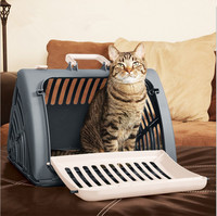 Pet Travlel Monster Carrier Portable Dog Carrier Pet Air Box Collapsible Dogs Cats Checked Out Box