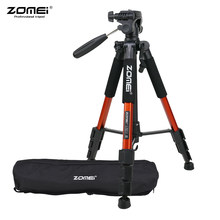 "ZOMEI Q111 142cm/56"" Lightweight Portable 4 Colors Camera Travel Tripod with Quick Release Plate for Canon Nikon Sony DSLR(China)"