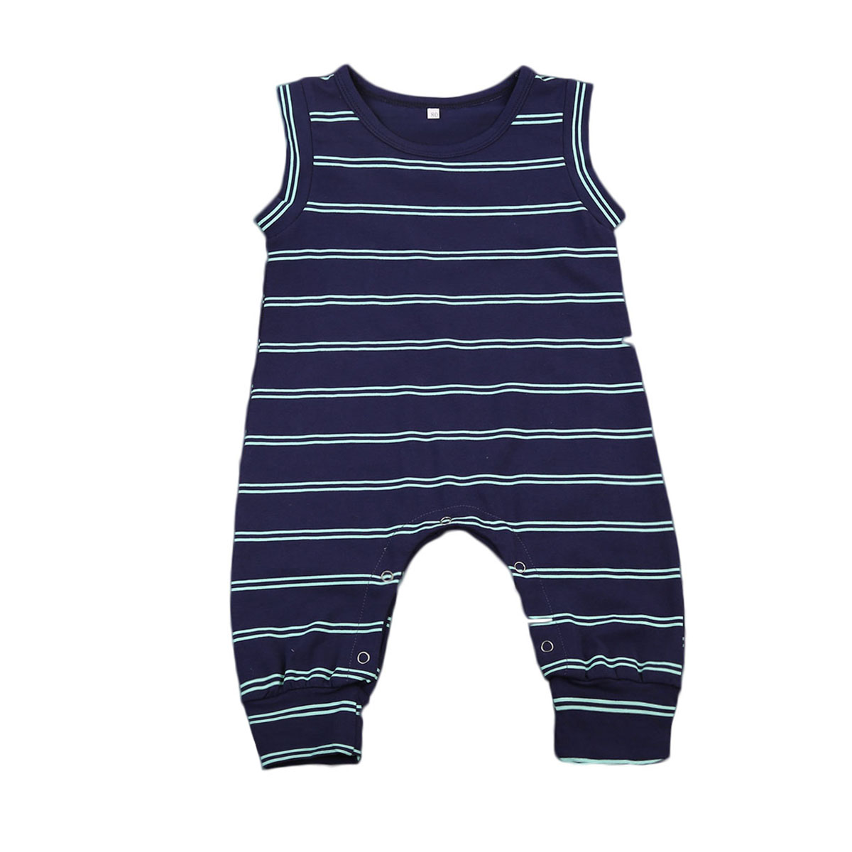Confident Newborn Baby Girls Boys Stripes Romper Playsuit Summer Casual Clothes Kids Rompers