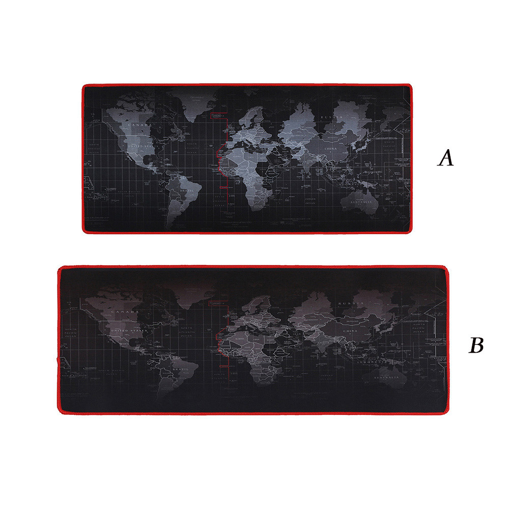 Hot Selling Extra Large Mouse Pad Old World Map Gaming Mousepad Anti-slip Rubber Gaming Mouse Mat with Locking Edge 61400A 25x21cm professional gaming mouse pad solid color locking edge mouse mat anti slip natural rubber gaming mouse mat for pc laptop