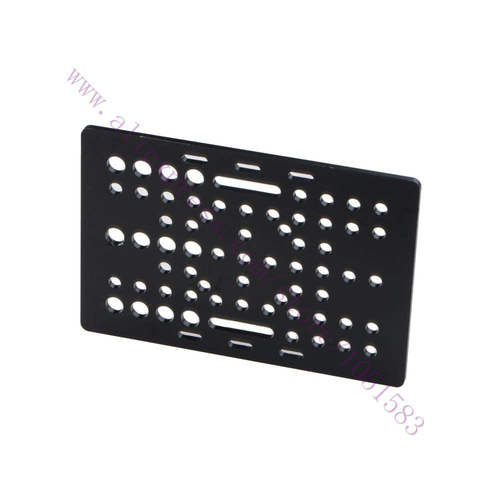 e73edb83c26d Openbuilds aluminum alloy V Slot Gantry Plate 20-80mm CNC machine 3D  Printer RepRap parts Aluminium Linear Extrusion