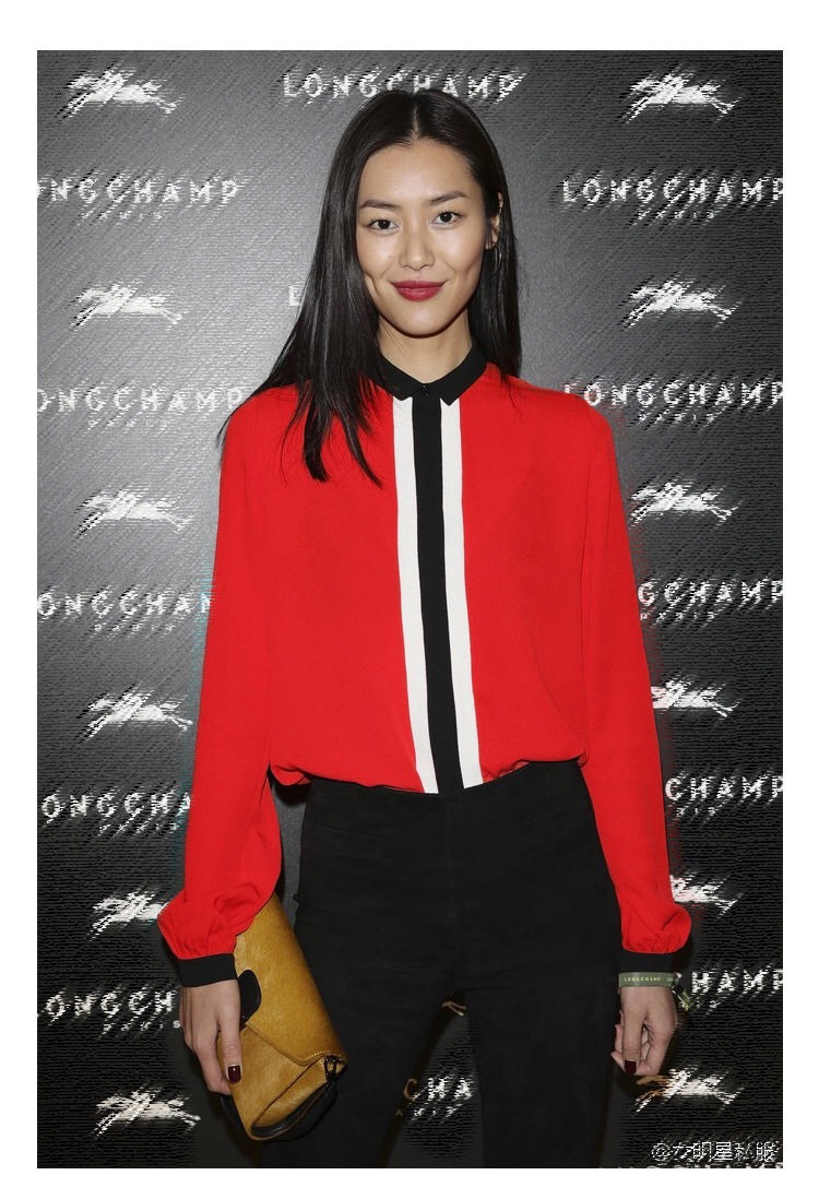 Newest EQ 100 silk black white color block ladies long sleeve blouses women red shirt spring