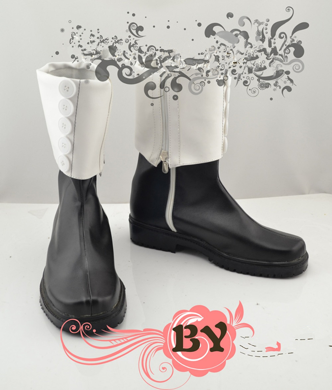 Soul Eater Spellsword Crona cosplay boots customized shoes