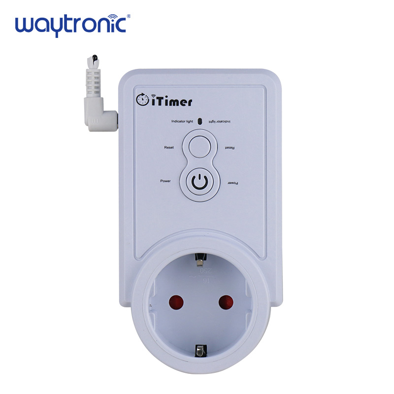 Russian SMS Control GSM Smart Power Plug Socket Wall Switch Outlet with Temperature Sensor Intelligent Temperature Control