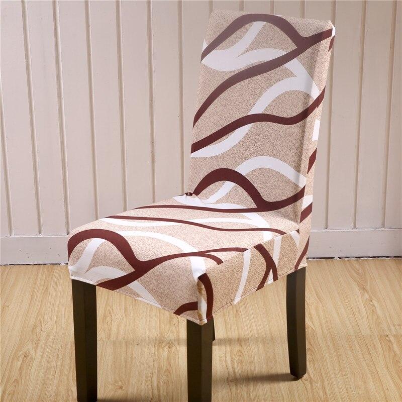 Sunnyrain 4/6 piezas de poliéster Fundas para sillas s spandex boda ...