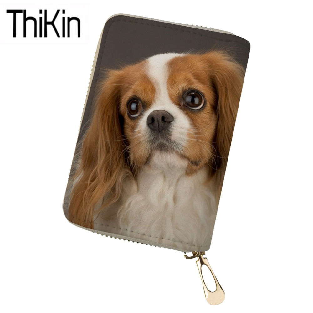 Luggage & Bags Thikin Womens Passport Covers Cute Corgi Printing Passport Holder Ladies Portable Card Holders For Females Passport Cases Bolsa Attractive And Durable Card & Id Holders