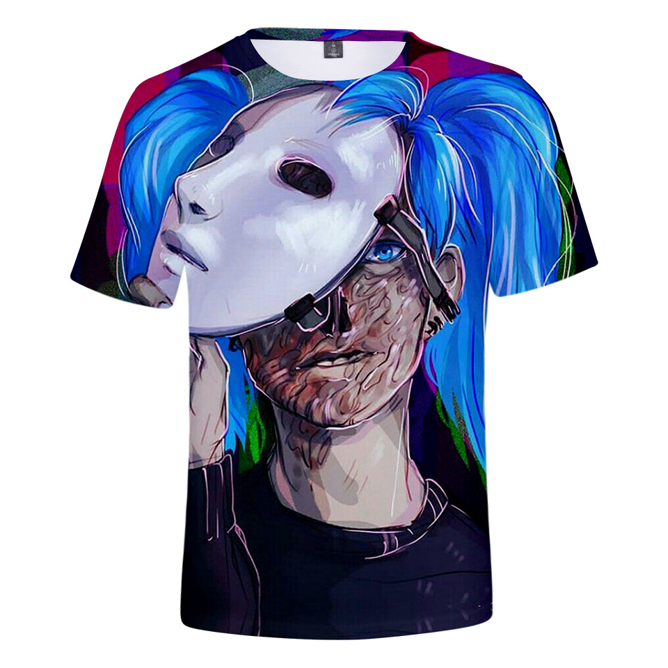 New Game Sally Face T Shirts Men/Women T-Shirt Sally Face Short Sleeve Shirt 3D print Tshirt Summer fashion trend Fashion Tees image