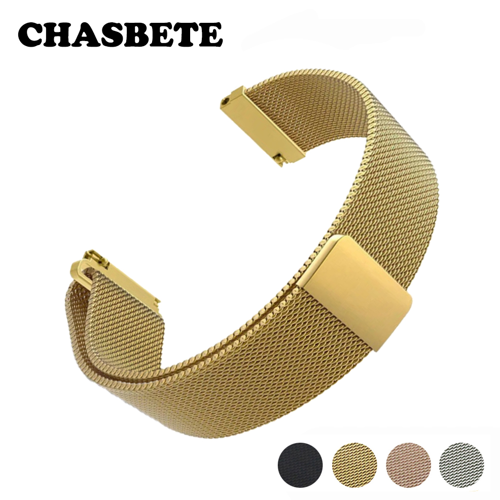 16mm 18mm 20mm 22mm 23mm Stainless Steel Watch Band for Armani Watchband Magnetic Quick Release Strap Wrist Loop Belt Bracelet quality solid stainless steel watchband 18mm 23mm 25mm grace rose gold watch bracelet for constellation double eagle strap