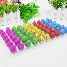 60Pcs/Sets Magic Dinosaur Eggs Toys Water Hatching Egg For  Educational Novelty Gag Kids Funny Children