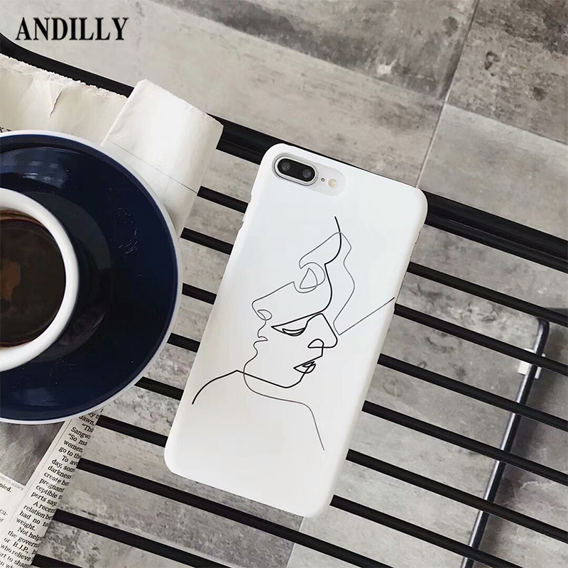 phone drawing cases simple iphone outline line case andilly boy